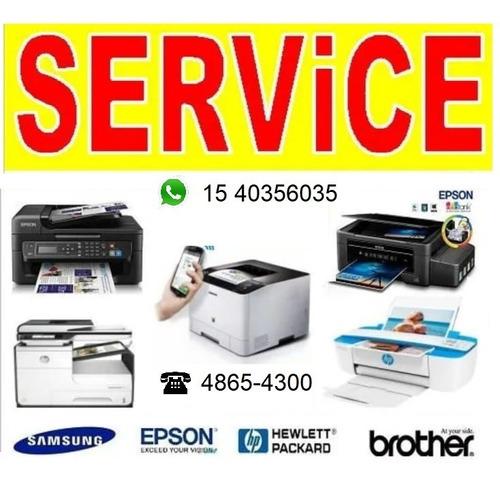 reparación servicio técnico de impresoras almagro
