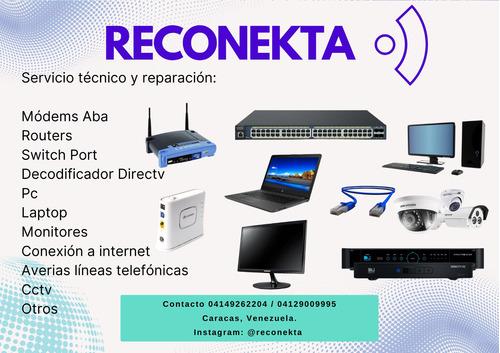 reparacion servicio tecnico de modem, router