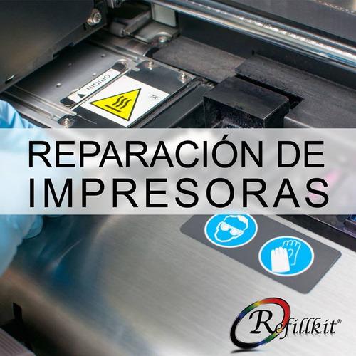 reparacion servicio tecnico impresoras sin cargo presupuesto