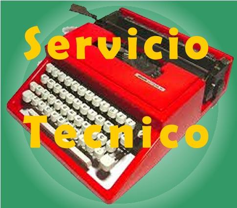 reparacion  servicio tecnico maquinas de escribir y calcular