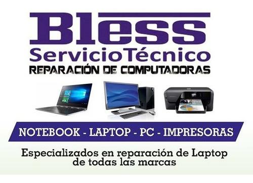 reparación - servicio técnico pc - notebook - impresoras