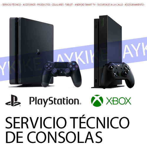reparacion servicio tecnico play 4 ps4 ps3 xbox joystick