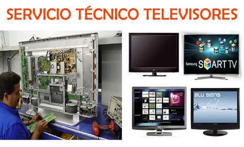 reparacion / servicio técnico televisores, smart-tv/leds