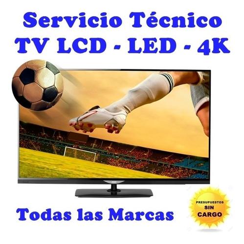 reparación servicio técnico tv led samsung lg noblex tmarcas