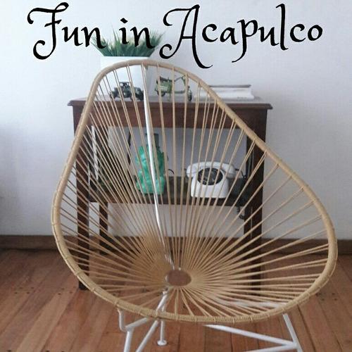 reparacion silla acapulco  pvc y soga