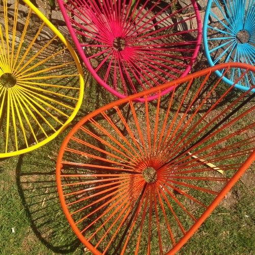 reparacion sillas acapulco  pvc y soga