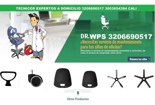 reparación sillas de oficina cali repuestos envíos colombia