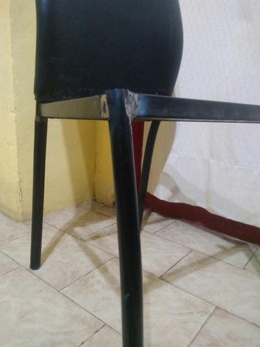 reparacion soldadura de sillas con refuerzo en planchuela