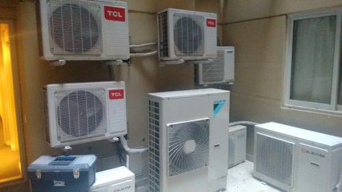 reparacion split aire acondicionado  gas aceptamos mp y tarj
