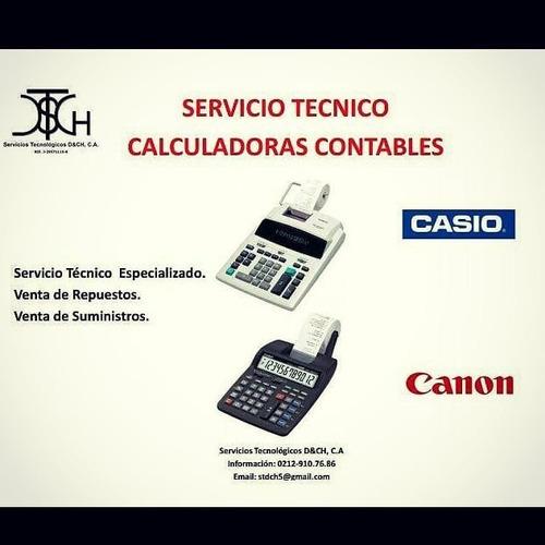reparación sumadora calculadora contables y oficina servicio