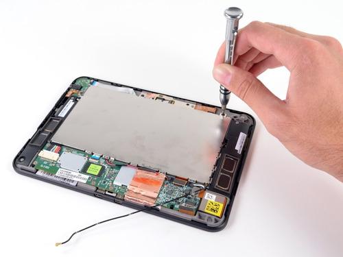 reparacion tablet cambio repuesto pantalla táctil