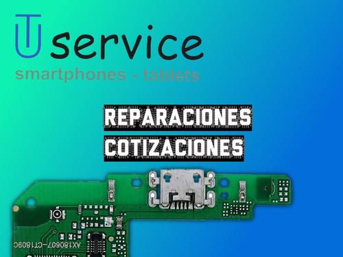 reparacion tablet pin carga