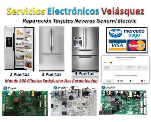 (reparacion) tarjeta nevera general electric 200d4854g012