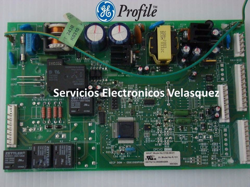 reparacion tarjeta nevera general electric wkkt 0158-00-02