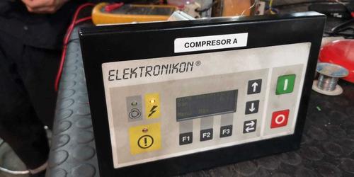 reparación tarjetas electrónicas atlas copco elektronikon