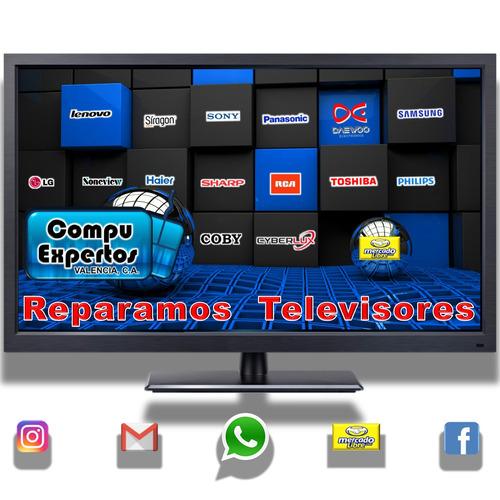 reparacion televisores, led, plasmas y lcd