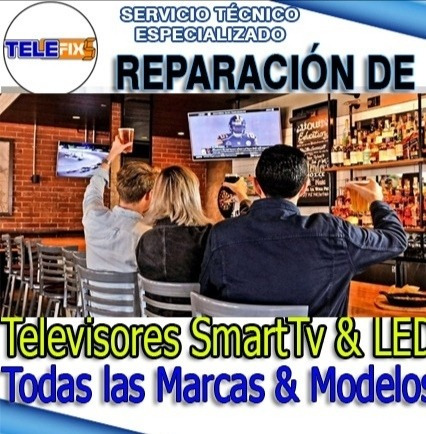 reparación televisores smarttv domicilio macbook notebook pc