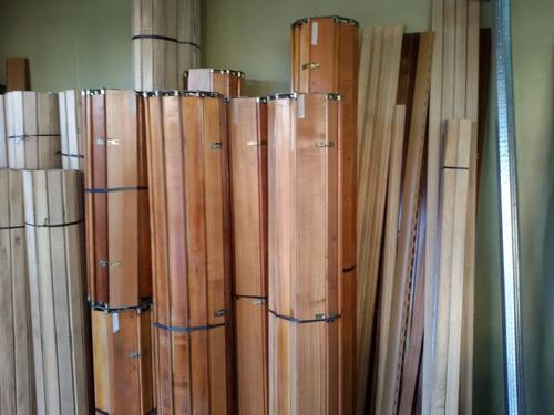 reparación venta cortinas persiana de enrollar madera pvc