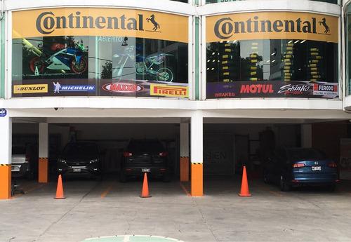 reparación-venta llantas motos pirelli continental michellin