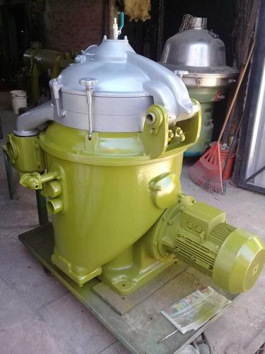 reparación - venta. separadoras centrifugas y decantadoras