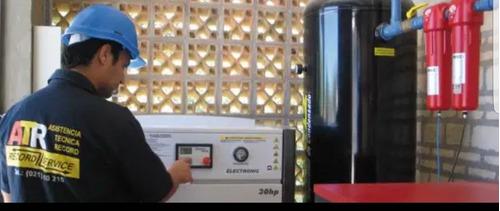 reparacion venta y alquiler de  compresoras de tornillo