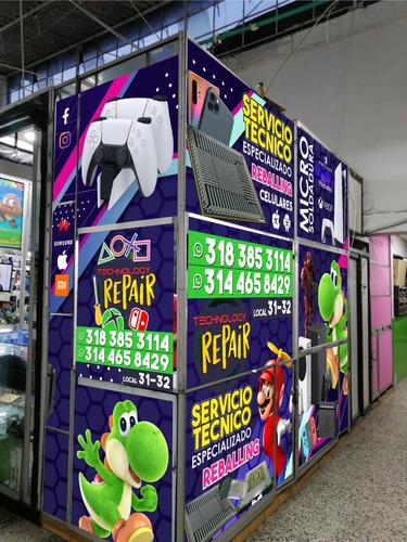 reparación xbox 360 xbox one ps4 nintendo switch ps3