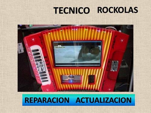 reparación y actualizacion de rockolas bogota