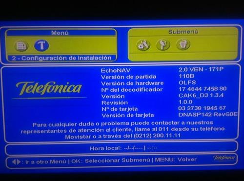 reparación y actualización de software movistar tv 646v 636v
