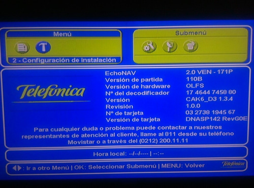 reparacion y actualizacion decodificadores movistar tv