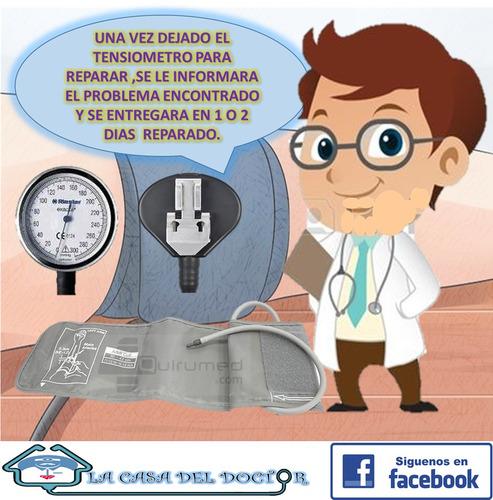 reparacion y calibracion de tensiometro manual y digital