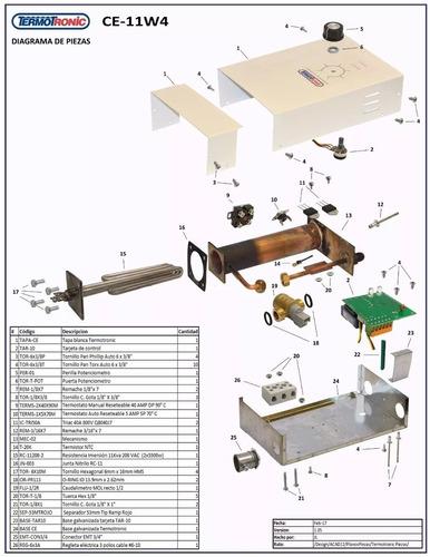 reparación y  instalación calentadores termotronic y cbx