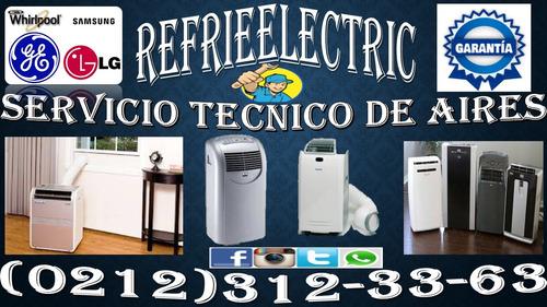reparacion y mantenimiento de aires acondicionad samusng lg