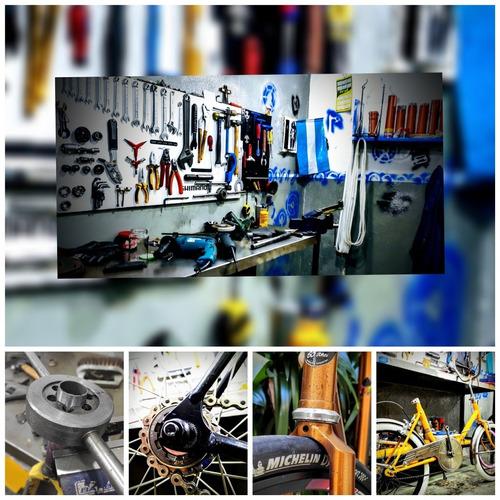 reparación y mantenimiento de bicicletas - en devoto