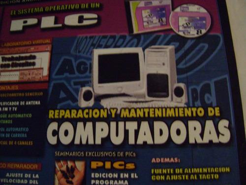 reparación y mantenimiento de computadoras.