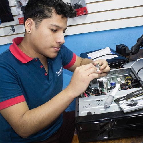 reparación y mantenimiento de computadoras e impresoras