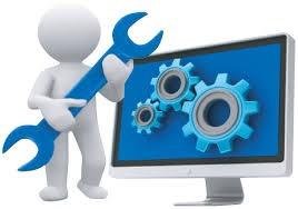 reparación y mantenimiento de computadoras y celulares.