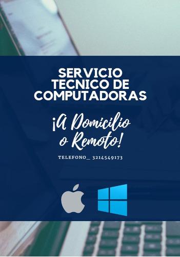 reparacion y mantenimiento de computadores