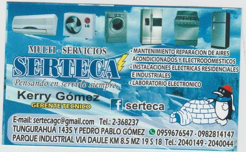 reparacion y mantenimiento de electrodomesticos garantizado