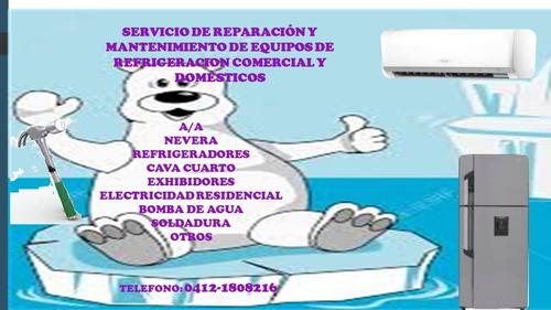 reparación y mantenimiento de electrodomésticos y comercial