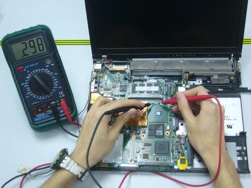reparación y mantenimiento de equipos de computo