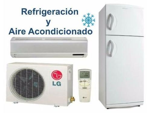 reparación y mantenimiento de equipos de refrigeración