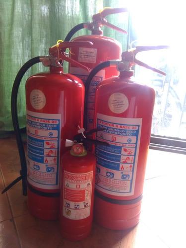 reparación y mantenimiento de extintores