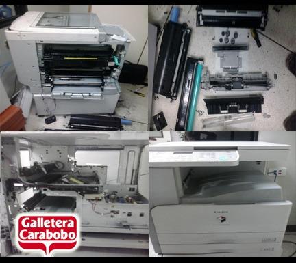reparacion y mantenimiento de impresoras y fotocopiadoras
