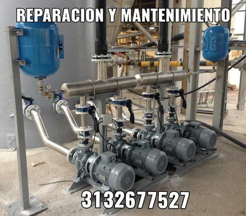reparacion y mantenimiento de motobombas