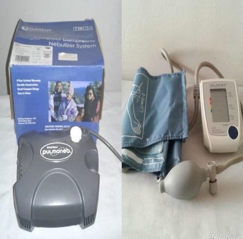 reparación y mantenimiento de nebulizadores y tensiómetros.