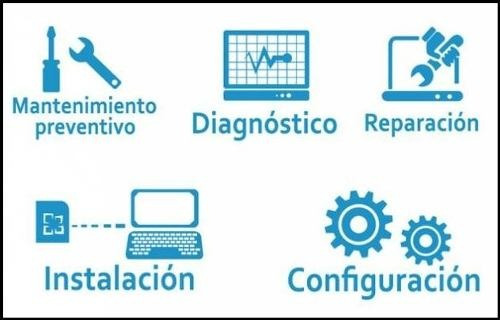 reparacion y mantenimiento de pc y laptops