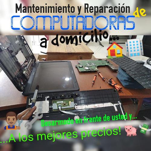 reparación y mantenimiento de pcs