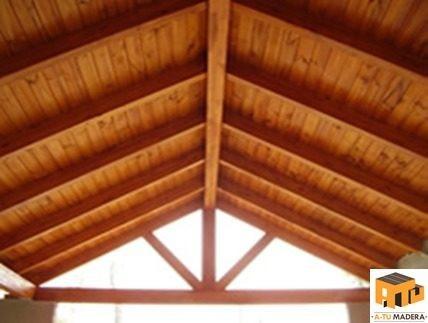reparacion y mantenimiento de techo machimbrado