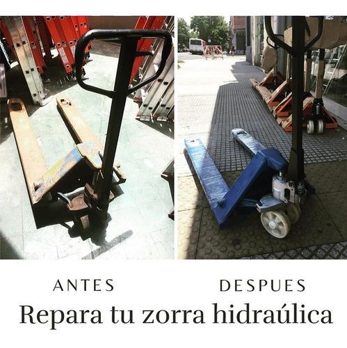 reparacion y mantenimiento de zorras y sistemas hidraulicos
