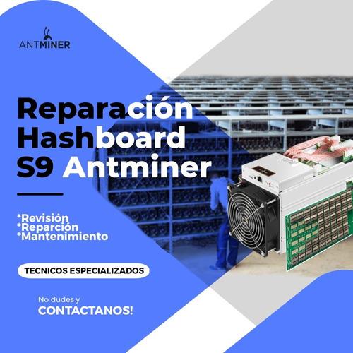 reparación y mantenimiento para equipos antminer s9